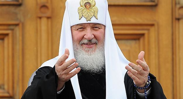 Zwierzchnik rosyjskiej Cerkwi prawosławnej patriarcha Cyryl /AFP