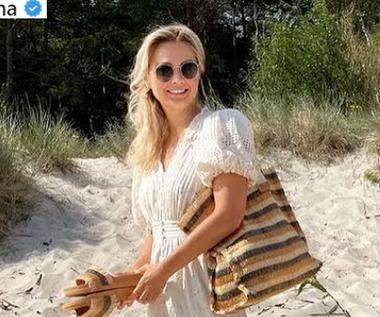 Zwiewne sukienki na lato 2021. Małgorzata Socha wyznacza trendy!