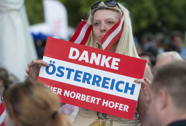 Zwoleniczka Austriackiej Partii Wolności /AFP