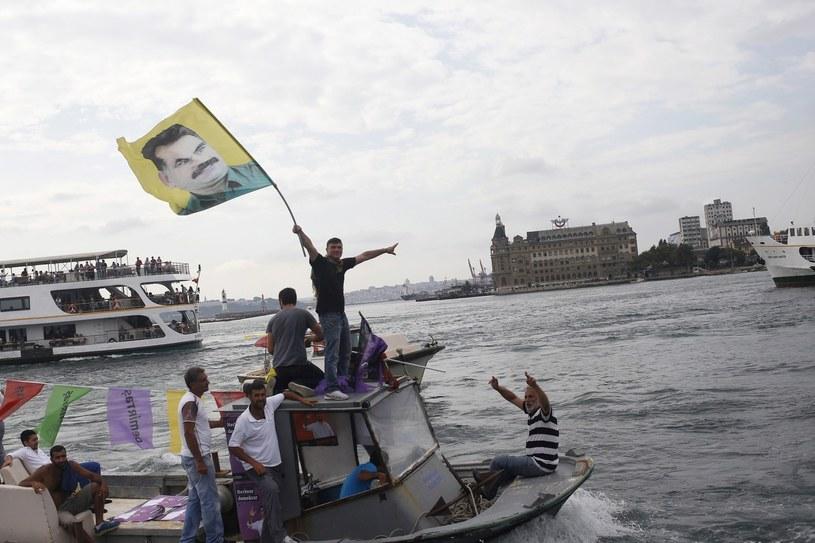 Zwolennicy Abdullaha Ocalana /AFP