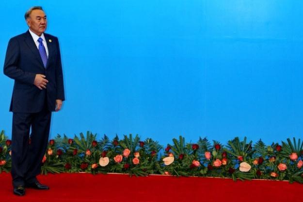Zwolennikiem ustawy jest m.in. prezydent Kazachstanu Nursułtan Nazarbajew /AFP
