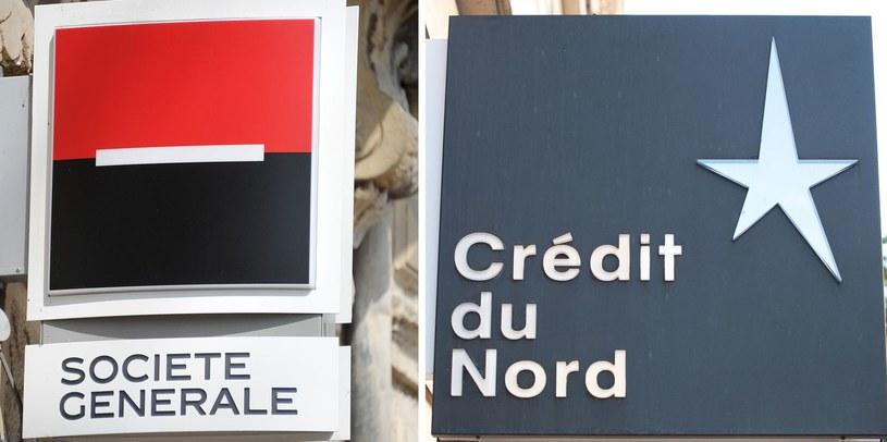 Zwolnienie 3,7 tys. pracowników po fuzji banków Societe Generale i Credit du Nord /AFP