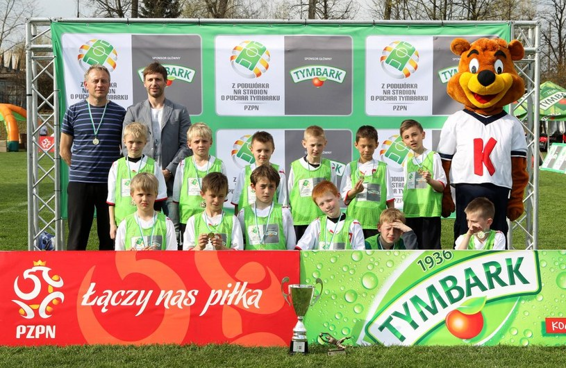 Zwycięska drużyna chłopców U-10 MUKS Halny Kamienica (fot. K.Kraszewski) /Informacja prasowa