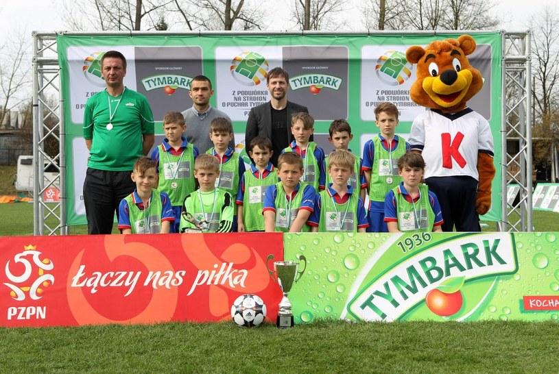 Zwycięska drużyna chłopców U-12 SP 119 Kraków (fot. K.Kraszewski) /Informacja prasowa