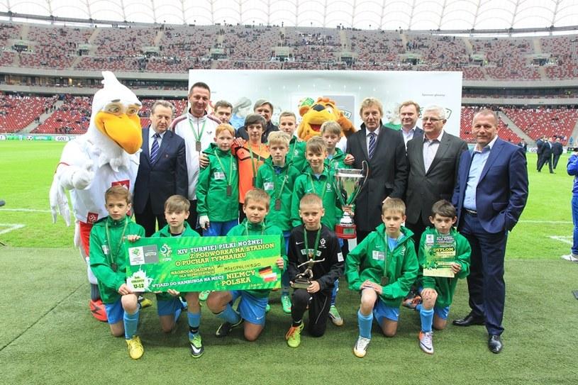 Zwycięska drużyna chłopców U-12 z Małopolski /Fot. A. Kraszewski /Informacja prasowa