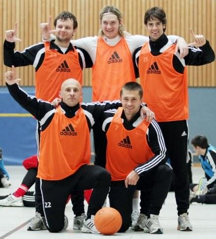 Zwycięska drużyna. Foto: Mateusz Kostrzewa. /Legia.com
