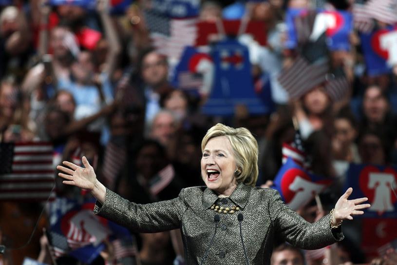 Zwycięska Hillary Clinton /AFP