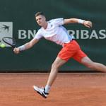 Zwycięska sobota Huberta Hurkacza: 23-letni tenisista zajął trzecie miejsce w turnieju pokazowym w USA