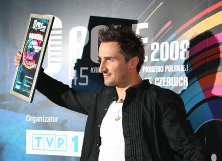 Zwycięski Sebastian Karpiel-Bułecka (Zakopower) /INTERIA.PL