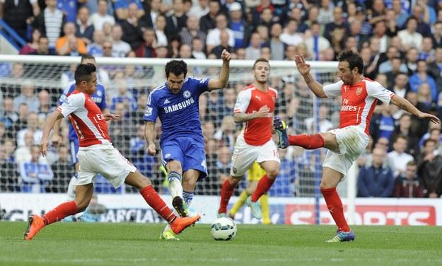 Zwycięstwo Chelsea z Arsenalem w derbach Londynu /FACUNDO ARRIZABALAGA  (PAP/EPA) /PAP/EPA