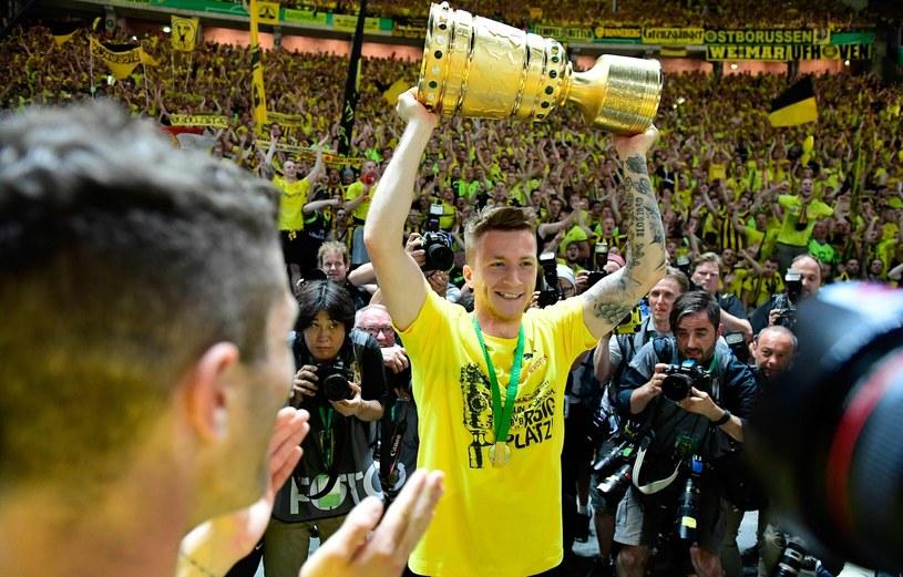 Zwycięstwo w finale Pucharu Niemiec Marco Reus okupił ciężką kontuzją /TOBIAS SCHWARZ /East News