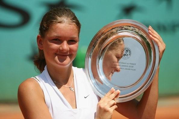 Zwycięstwo w juniorskim French Open, rok 2006 /AFP