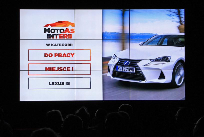 Zwycięzca kategorii Do pracy - Lexus IS /INTERIA.PL