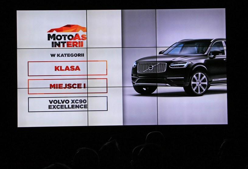 Zwycięzca kategorii Klasa - Volvo XC90 Excellence /INTERIA.PL