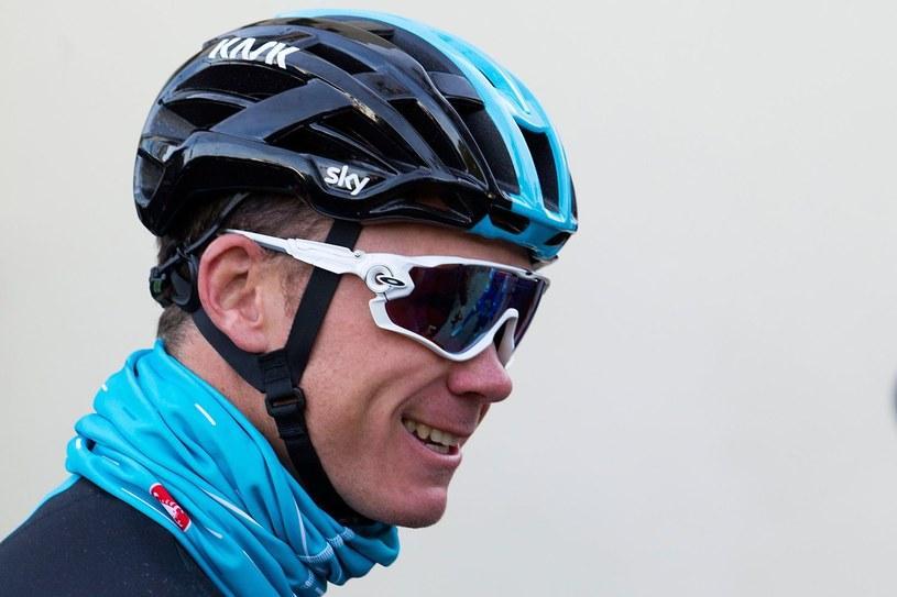 Zwycięzca ostatniego Tour de France Chris Froome /AFP