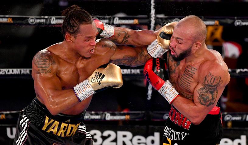 Zwycięzca pierwszej walki Lyndon Arthur (z prawej) i Anthony Yarde /Getty Images