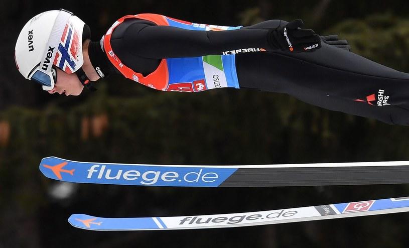 Zwycięzca Pucharu Świata, Norweg Halvor Egner Granerud /AFP