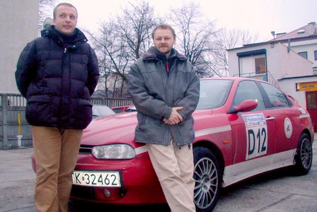 Zwycięzcy Karowej i ich samochód /INTERIA.PL