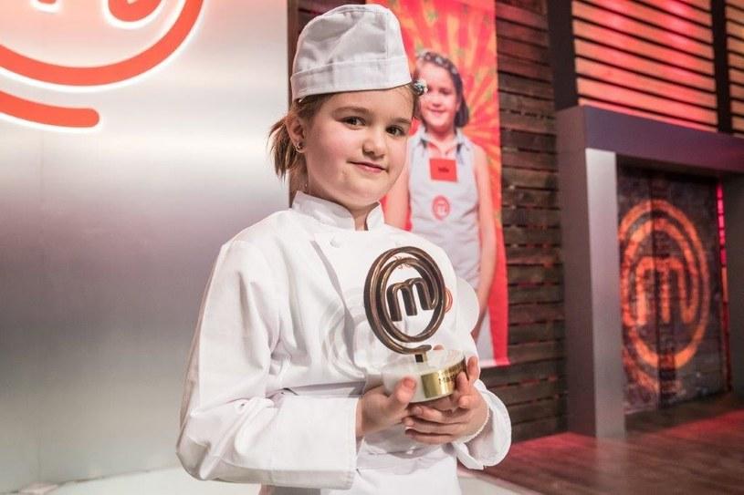 Zwyciężczyni konkursu MsterChef Junior /materiały prasowe