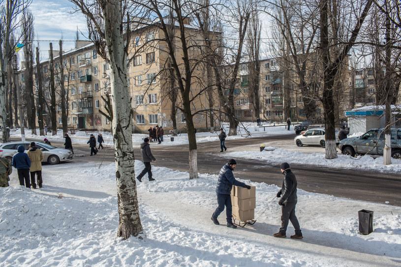 Życie na wschodzie Ukrainy, zdj. ilustracyjne /Getty Images
