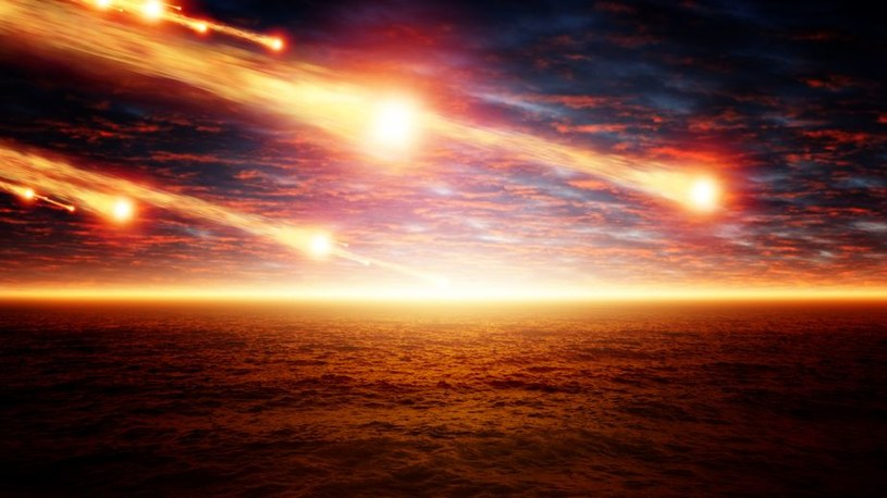 Życie na Ziemi to efekt uderzenia meteorytu(-ów) w powierzchnię planety? /123RF/PICSEL
