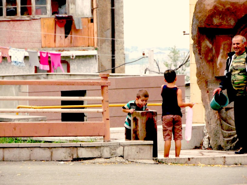 Życie w Stepanakercie toczy się normalnym torem /Aneta Zając /INTERIA.PL