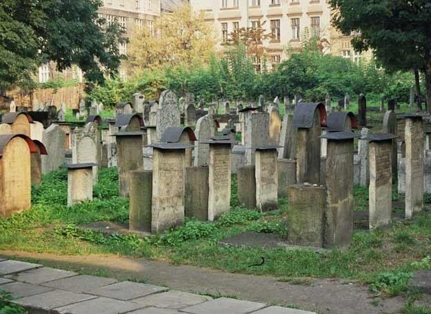 Źydowski cmentarz Remuh, Kraków fot. W. Szarliński /East News