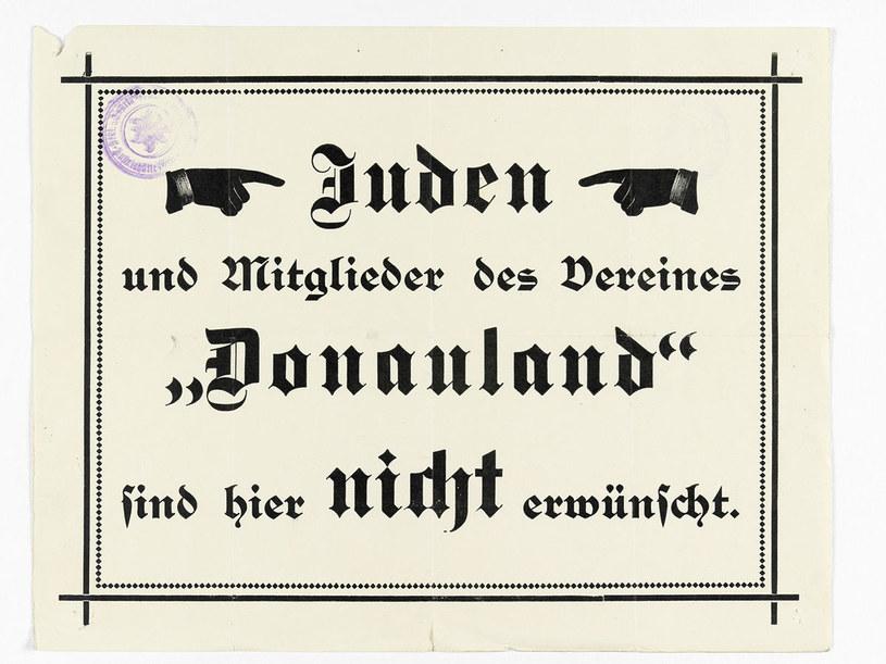 Żydzi mieli zakaz wstępu do budynków górskich DuÖAV /Wikimedia Commons /domena publiczna