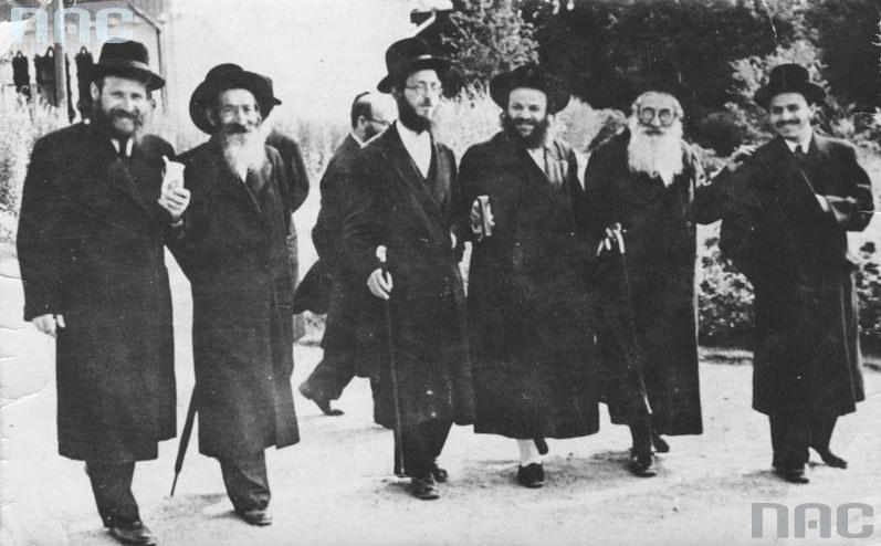 Żydzi w przedwojennej Polsce /Z archiwum Narodowego Archiwum Cyfrowego