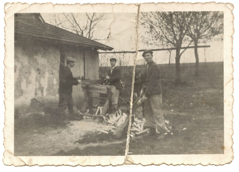 Żydzi z rodziny Szallów ukrywani przez Ulmów /Archiwum autora