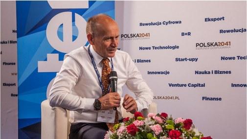 Zygmunt Berdychowski, organizator 28. Forum Ekonomicznego w Krynicy