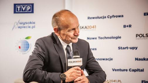 Zygmunt Berdychowski, organizator Forum Ekonomicznego w Krynicy