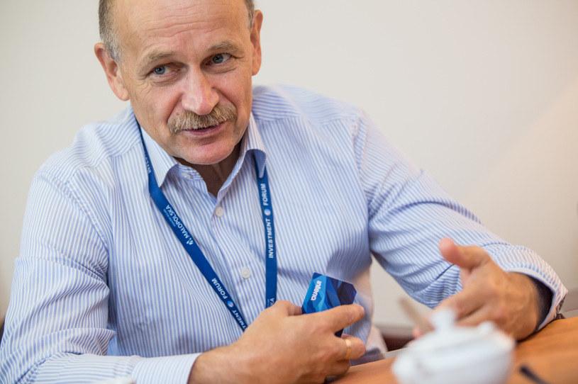 Zygmunt Berdychowski, przewodniczący Rady Programowej Forum Ekonomicznego /Adam Kozak /INTERIA.PL