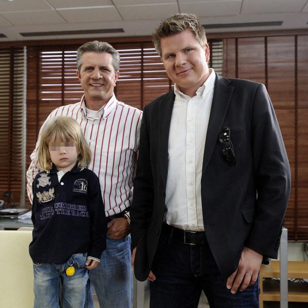 Zygmunt Chajzer, Filip Chajzer z synem Maksem /Michał Wargin /East News