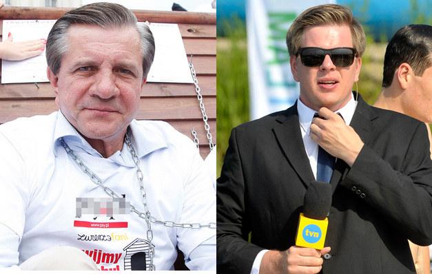 Zygmunt Chajzer, Filip Chajzer /AKPA