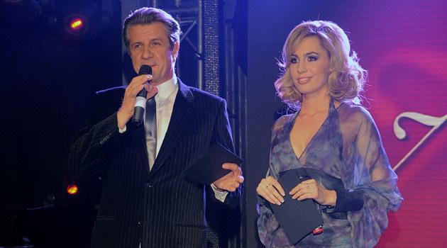 Zygmunt Chajzer i Agnieszka Popielewicz, fot. Andrzej Szilagyi  /MWMedia