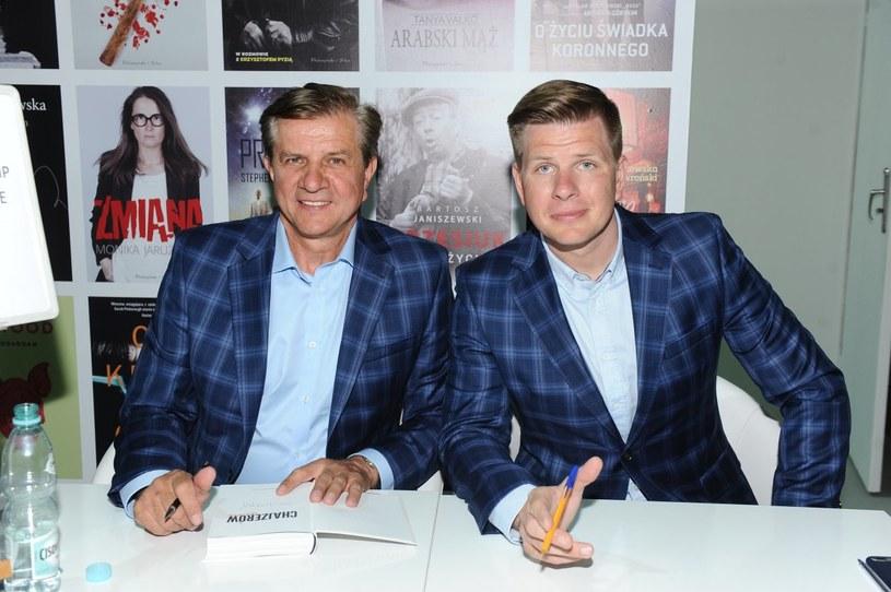 Zygmunt Chajzer z synem Filipem /Piotr Andrzejczak /MWMedia