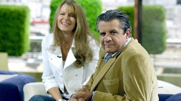 Zygmunt Chajzer z żoną Dorotą /AKPA
