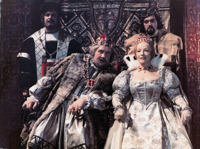 Zygmunt I Stary (Zdzisław Kozień), Bona Sforza Król początkowo był zachwycony twardym charakterem żony. A potem... zaczął jej ustępować. /Bauer /AKPA