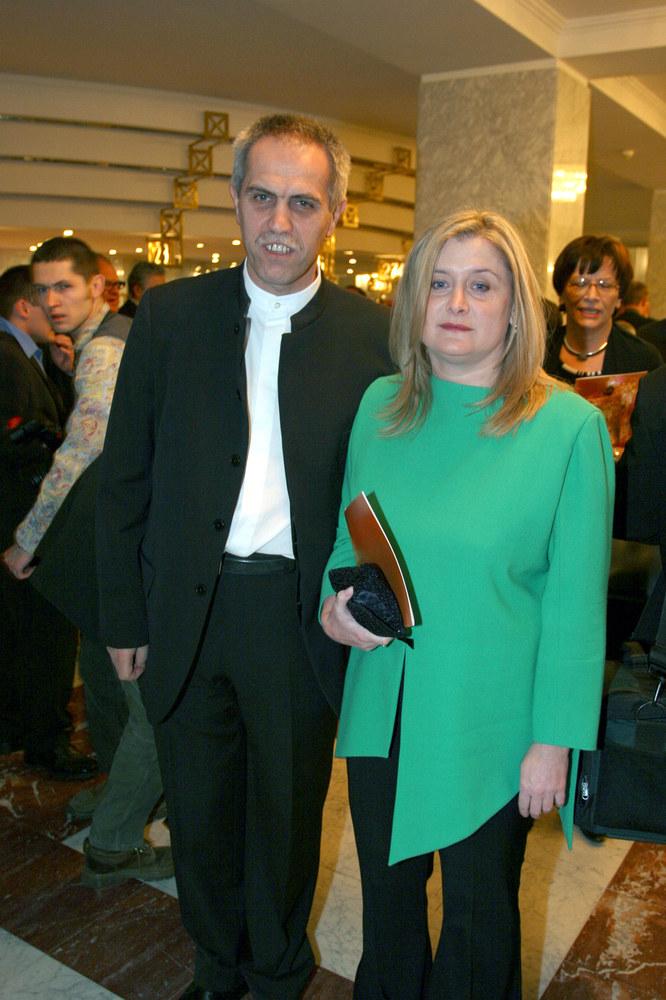 Zygmunt Solorz-Żak z żoną Małgorzatą /Warda /AKPA
