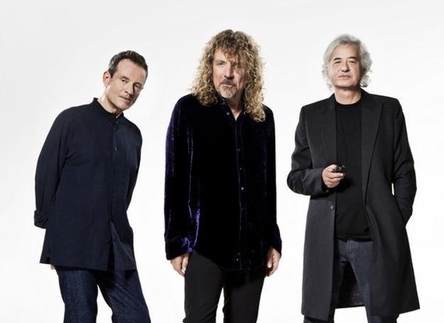 Żyjący muzycy Led Zeppelin w komplecie: John Paul Jones, Robert Plant i Jimmy Page /Warner Music Poland
