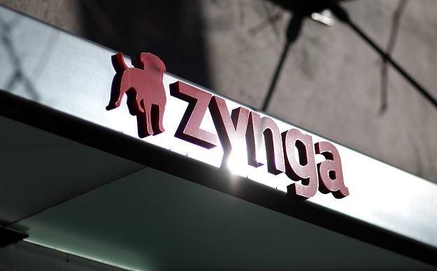 Zynga - zdjęcie baneru z logotypem firmy /AFP