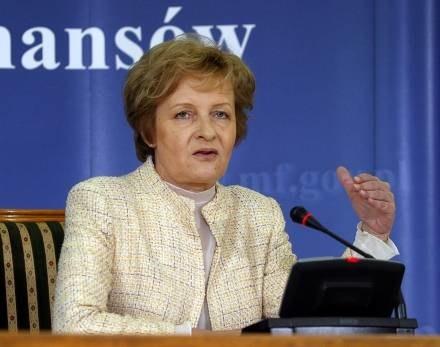 Zyta Gilowska przebywa w szpitalu /AFP