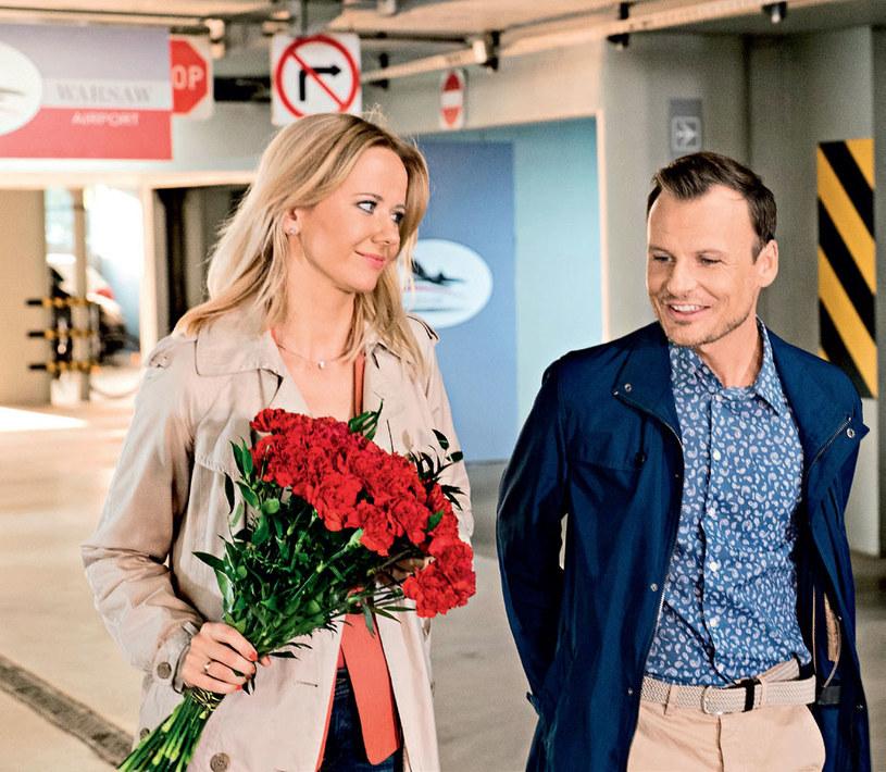 Zyta (Magdalena Stam) jest żoną Michała Chojnickiego (Daniel Zawadzki) /Tele Tydzień
