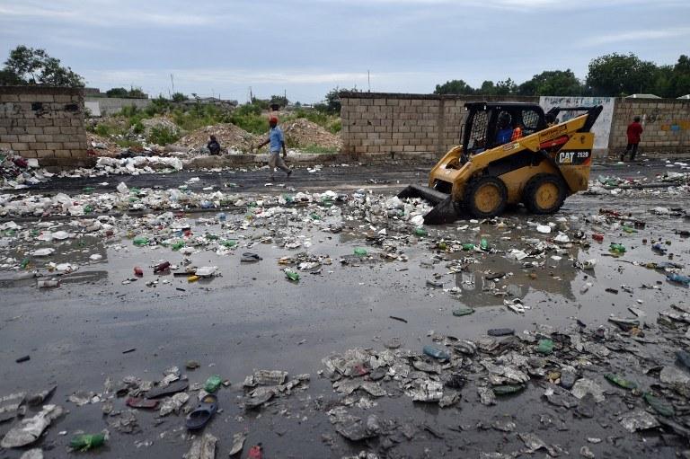 Żywioł już siał spustoszenie na Karaibach /AFP