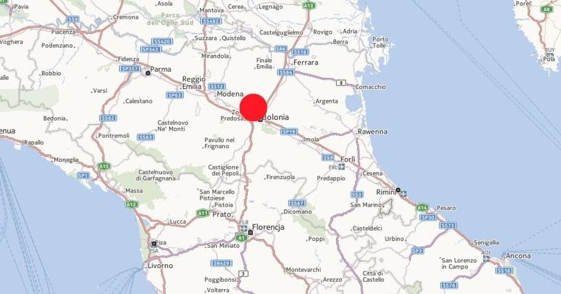 Żywioł uderzył w miasteczka w rejonie Bolonii i Modeny /INTERIA.PL